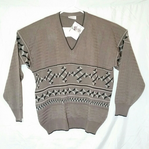 Gabicci Other - NWT Vintage Gabicci Sweater V Neck Made in Italy